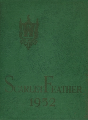 1952 Edition, Central High School - Scarlet Feather Yearbook (Red Wing, MN)