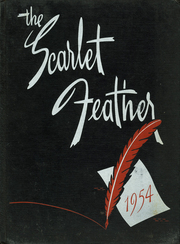 1954 Edition, Central High School - Scarlet Feather Yearbook (Red Wing, MN)