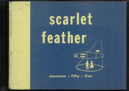 1955 Edition, Central High School - Scarlet Feather Yearbook (Red Wing, MN)