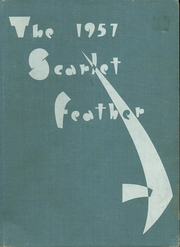 1957 Edition, Central High School - Scarlet Feather Yearbook (Red Wing, MN)