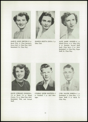 Page 20, 1951 Edition, West Concord High School - Concordian Yearbook (West Concord, MN) online yearbook collection