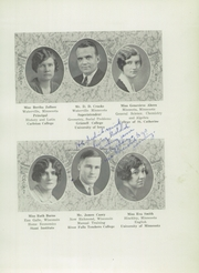 Page 11, 1929 Edition, Waterville High School - Tetonka Yearbook (Waterville, MN) online yearbook collection