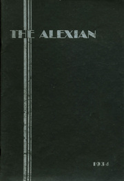1934 Edition, Alexandria High School - Alexian Yearbook (Alexandria, MN)