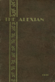 1936 Edition, Alexandria High School - Alexian Yearbook (Alexandria, MN)