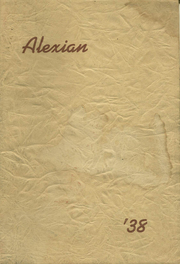 1938 Edition, Alexandria High School - Alexian Yearbook (Alexandria, MN)