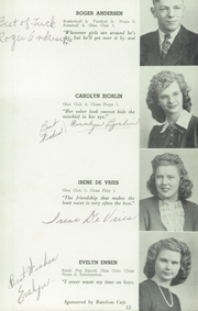 Page 13, 1946 Edition, Herman High School - Aggassiz Yearbook (Herman, MN) online yearbook collection