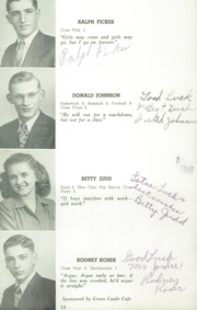 Page 14, 1946 Edition, Herman High School - Aggassiz Yearbook (Herman, MN) online yearbook collection