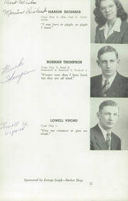 Page 17, 1946 Edition, Herman High School - Aggassiz Yearbook (Herman, MN) online yearbook collection