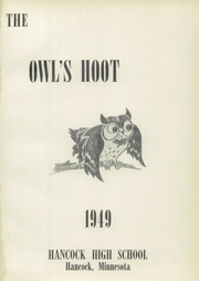 Page 5, 1949 Edition, Hancock High School - Owls Hoot Yearbook (Hancock, MN) online yearbook collection