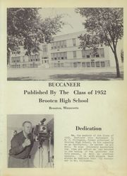 Page 5, 1952 Edition, Brooten High School - Buccaneer Yearbook (Brooten, MN) online yearbook collection