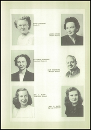 Page 15, 1951 Edition, Danube High School - Falcon Yearbook (Danube, MN) online yearbook collection