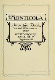Page 9, 1917 Edition, West Virginia University - Monticola Yearbook (Morgantown, WV) online yearbook collection