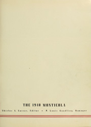 Page 5, 1940 Edition, West Virginia University - Monticola Yearbook (Morgantown, WV) online yearbook collection