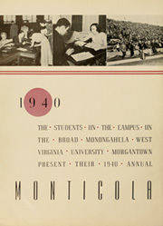 Page 6, 1940 Edition, West Virginia University - Monticola Yearbook (Morgantown, WV) online yearbook collection