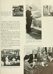 Page 15, 1959 Edition, West Virginia University - Monticola Yearbook (Morgantown, WV) online yearbook collection