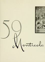 Page 5, 1959 Edition, West Virginia University - Monticola Yearbook (Morgantown, WV) online yearbook collection