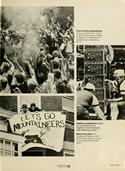 Page 7, 1983 Edition, West Virginia University - Monticola Yearbook (Morgantown, WV) online yearbook collection