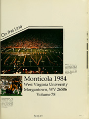 Page 5, 1984 Edition, West Virginia University - Monticola Yearbook (Morgantown, WV) online yearbook collection