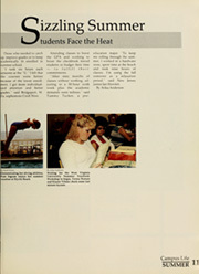 Page 15, 1986 Edition, West Virginia University - Monticola Yearbook (Morgantown, WV) online yearbook collection