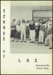 Page 5, 1956 Edition, Lancaster High School - Echoes Yearbook (Lancaster, MN) online yearbook collection