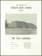 Page 7, 1956 Edition, Cokato High School - Cardinal Yearbook (Cokato, MN) online yearbook collection