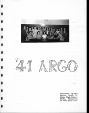 Page 8, 1941 Edition, Adams High School - Argo Yearbook (Adams, MN) online yearbook collection