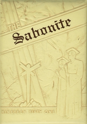 1951 Edition, St Boniface High School - Sabonite Yearbook (Cold Spring, MN)