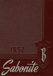 1952 Edition, St Boniface High School - Sabonite Yearbook (Cold Spring, MN)