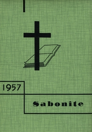 1957 Edition, St Boniface High School - Sabonite Yearbook (Cold Spring, MN)