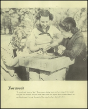 Page 6, 1938 Edition, St Marys Hall - Fleur de Lis Yearbook (Faribault, MN) online yearbook collection