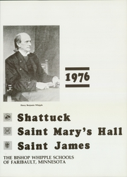 Page 7, 1976 Edition, St Marys Hall - Fleur de Lis Yearbook (Faribault, MN) online yearbook collection