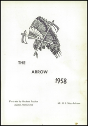 Page 5, 1958 Edition, Rose Creek High School - Arrow Yearbook (Rose Creek, MN) online yearbook collection