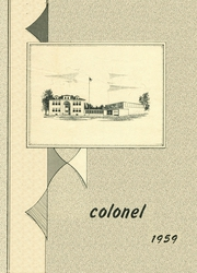 Page 1, 1959 Edition, Barrett High School - Colonel Yearbook (Barrett, MN) online yearbook collection