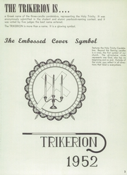 Page 7, 1952 Edition, Holy Trinity High School - Trikerion Yearbook (New Ulm, MN) online yearbook collection