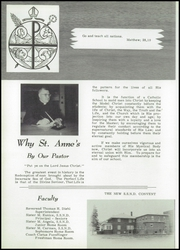 Page 10, 1959 Edition, St Anne High School - Reflector Yearbook (Wabasso, MN) online yearbook collection