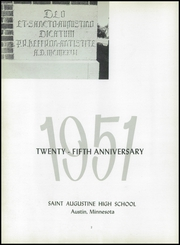 Page 6, 1951 Edition, St Augustine High School - Starecord Yearbook (Austin, MN) online yearbook collection