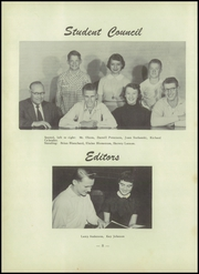 Page 12, 1955 Edition, East Chain High School - Saga Yearbook (East Chain, MN) online yearbook collection