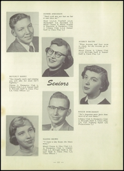 Page 15, 1955 Edition, East Chain High School - Saga Yearbook (East Chain, MN) online yearbook collection