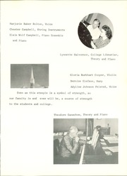 Page 15, 1962 Edition, MacPhail College of Music - Coda Yearbook (Minneapolis, MN) online yearbook collection