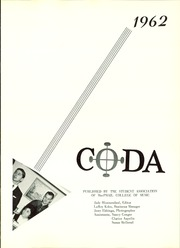 Page 5, 1962 Edition, MacPhail College of Music - Coda Yearbook (Minneapolis, MN) online yearbook collection