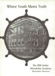 Page 5, 1959 Edition, Minnehaha Academy - Antler Yearbook (Minneapolis, MN) online yearbook collection