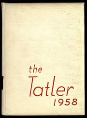 1958 Edition, Northrop Collegiate School - Tatler Yearbook (Minneapolis, MN)