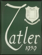 1959 Edition, Northrop Collegiate School - Tatler Yearbook (Minneapolis, MN)