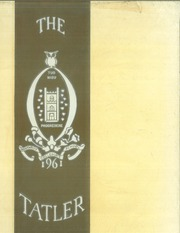 1961 Edition, Northrop Collegiate School - Tatler Yearbook (Minneapolis, MN)