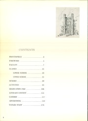 Page 6, 1961 Edition, Northrop Collegiate School - Tatler Yearbook (Minneapolis, MN) online yearbook collection