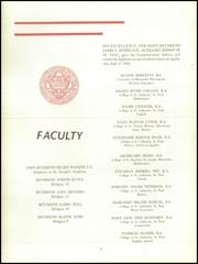 Page 12, 1954 Edition, St Josephs Academy - Patrins Yearbook (St Paul, MN) online yearbook collection