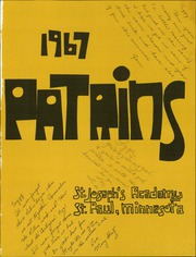 Page 5, 1967 Edition, St Josephs Academy - Patrins Yearbook (St Paul, MN) online yearbook collection