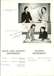 Page 13, 1953 Edition, Summit School - Flame Yearbook (St Paul, MN) online yearbook collection