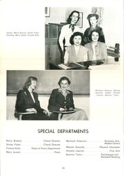 Page 14, 1953 Edition, Summit School - Flame Yearbook (St Paul, MN) online yearbook collection