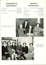 Page 15, 1953 Edition, Summit School - Flame Yearbook (St Paul, MN) online yearbook collection